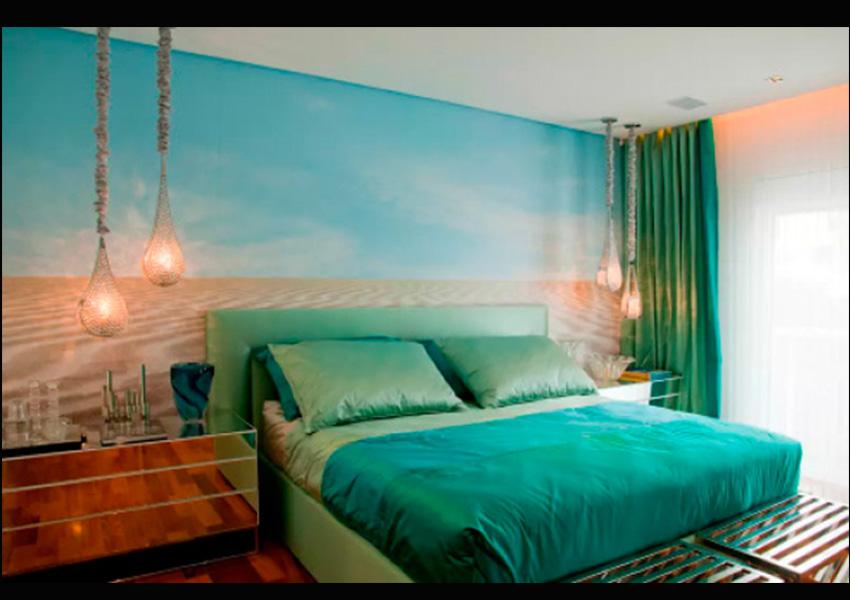 15 murales para decorar tu cuarto revista aia - Murales para habitacion ...